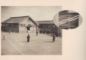 58.1923(大正12年)雨天体操場とテニスコート